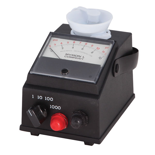 Ph And Conductivity Meter : Myron l ep ph analog conductivity meter from davis