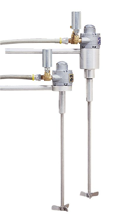 Low cost gear drive air motor mixer rpm from davis