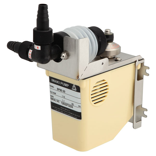 Polypropylene bellows metering pump ml min or psi