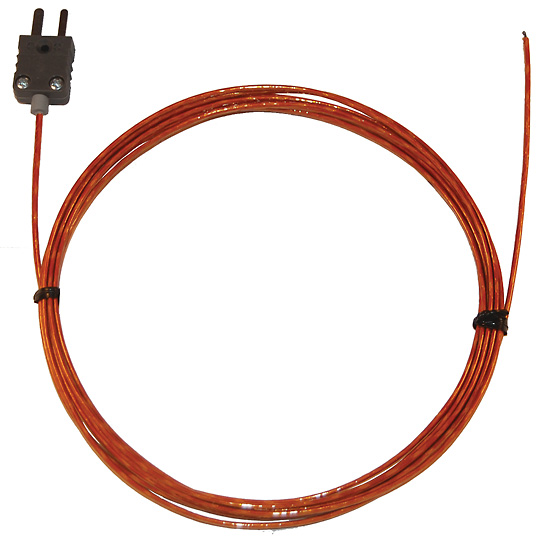 Insulated Probe To Measure Current On Wire : Digi sense type j kapton insulated thermocouple probe