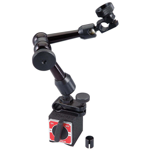 Hydraulic Arm With Magnetic Base Indicator : Magnetic base indicator holder with triple jointed arm