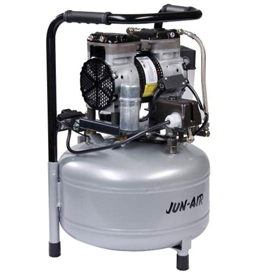 Jun air oilless piston compressor cfm psi l