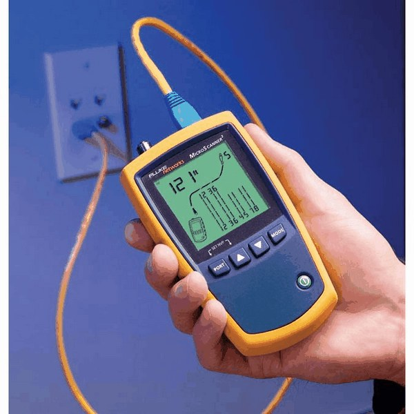 Fluke Network Tester : Fluke networks ciq cableiq qualification tester from