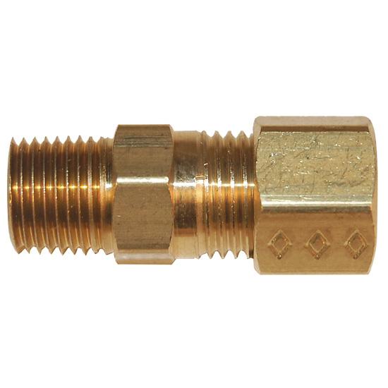 Digi sense compression fitting probe diameter brass