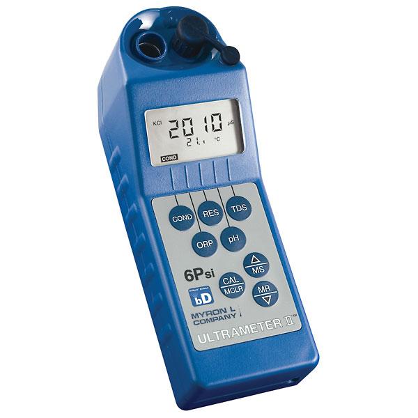Myron L Conductivity Meter : Myron l piifce waterproof pfce multiparameter meter from