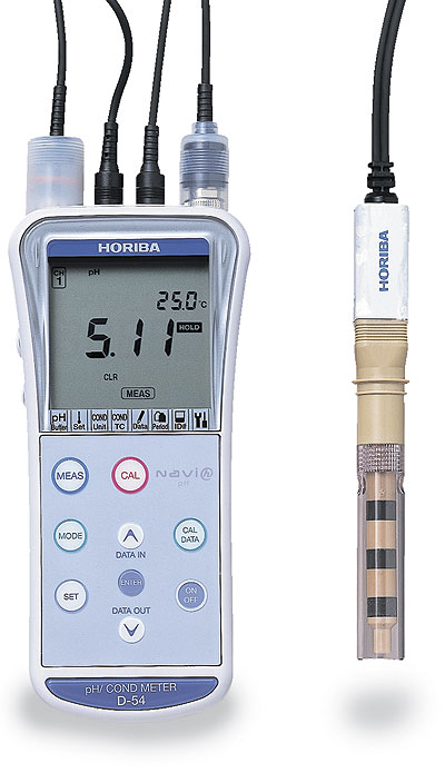 Ph And Conductivity Meter : Horiba d ph conductivity meter from davis instruments