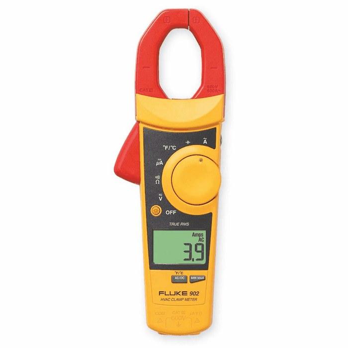 The Best Hvac Clamp Meter : Fluke digital true rms hvac clamp meter from davis