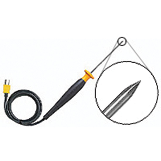 fluke suregrip 80pk 25 piercing type k thermocouple probe