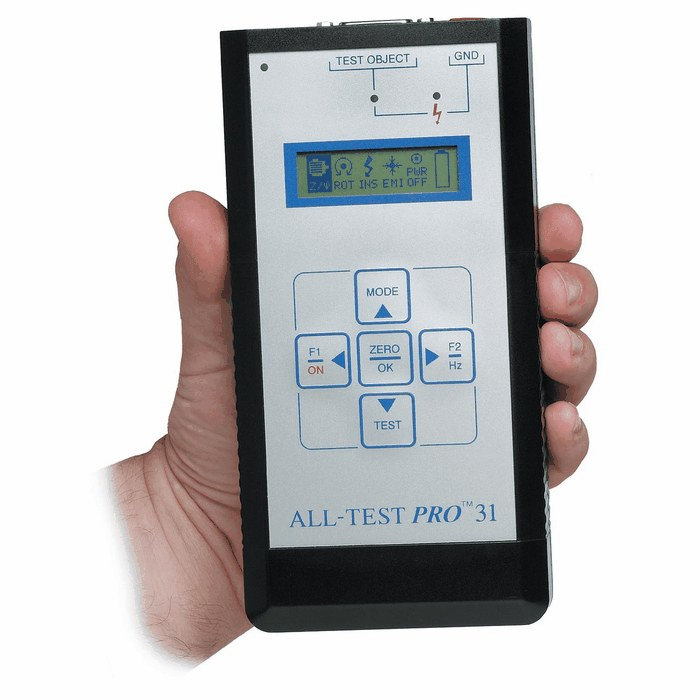 All Test Instruments : All test pro at handheld motor tester kit from