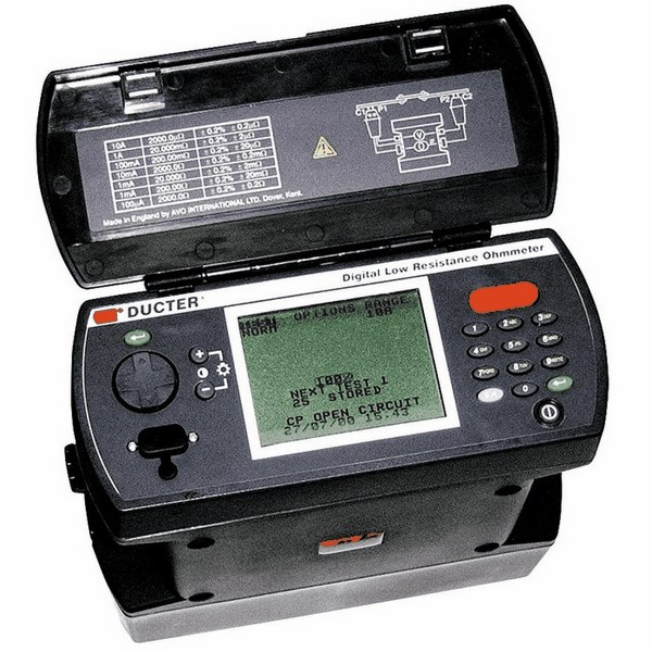 Milli Micro Ohmmeter Or Low Resistance Ohmmeter : Megger dlro low resistance ohmmeter high current