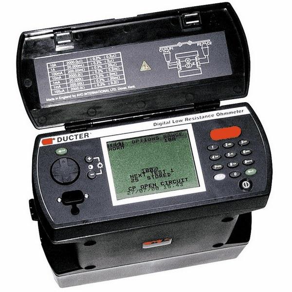 Digital Low Resistance Ohmmeters : Megger dlro low resistance ohmmeter high current