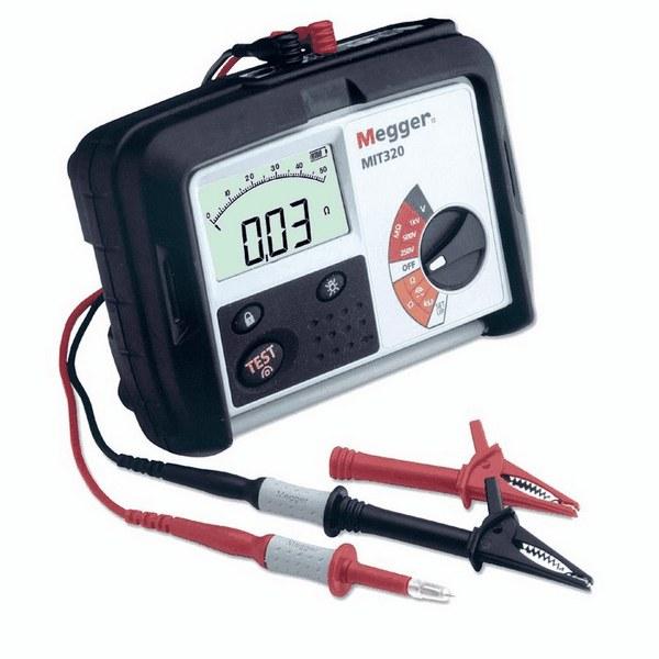 Megger Mit320 En 250v 500v 1kv Insulation Tester W Switch