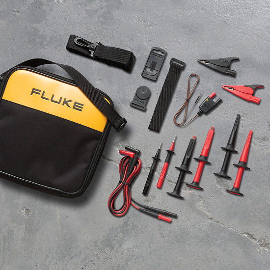 Fluke Test Instruments : Fluke tlk industrial meter test lead set from davis
