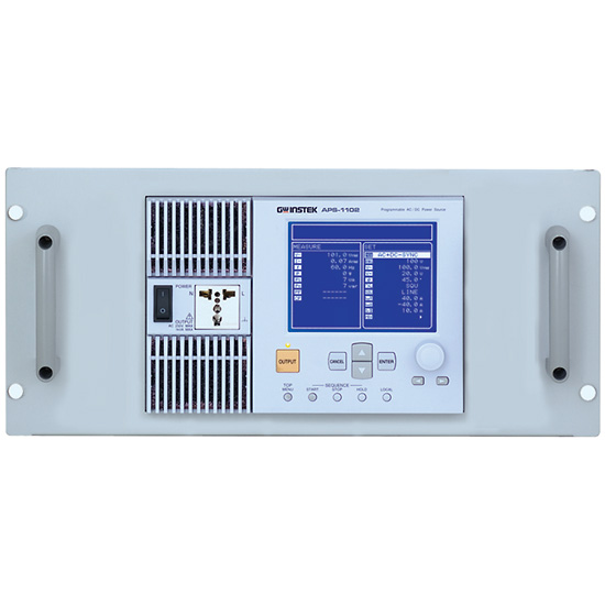Electronic Test Equipment Racks : Instek gra u rack adapter panel for aps series from