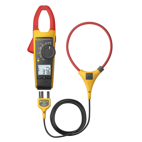 Fluke Power Meter Probes : Fluke trms a ac dc clamp meter with iflex