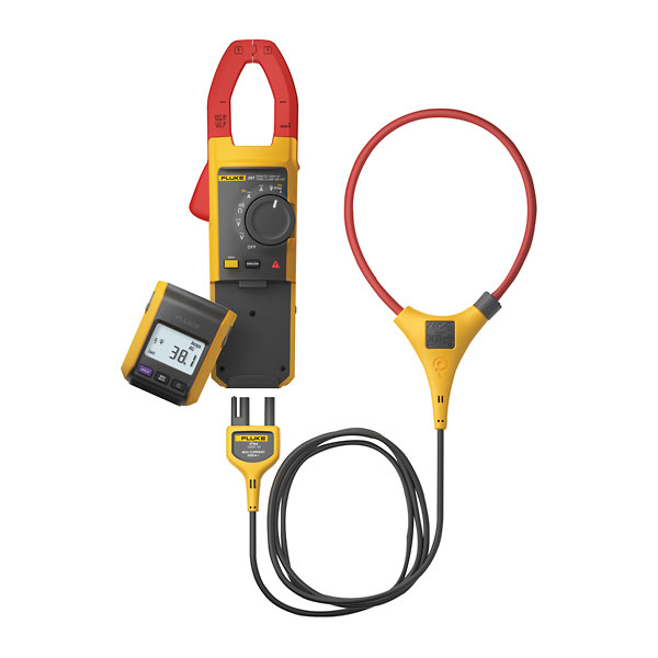 Fluke Power Meter Probes : Fluke true rms a ac dc clamp meter with iflex