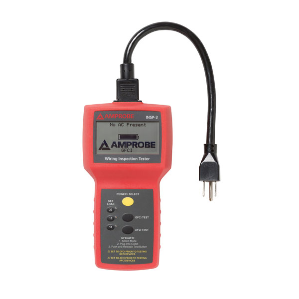 Three Circuit Tester : Amprobe insp wiring inspection circuit tester from davis