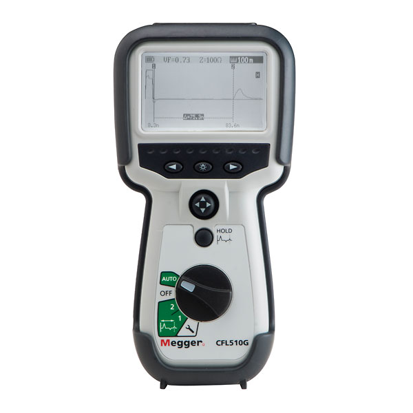 Time Domain Reflectometer : Megger cfl g time domain reflectometer from davis