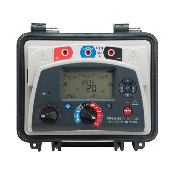 Megger Mit1025 Insulation Resistance Tester 10 Kv From Davis Instruments