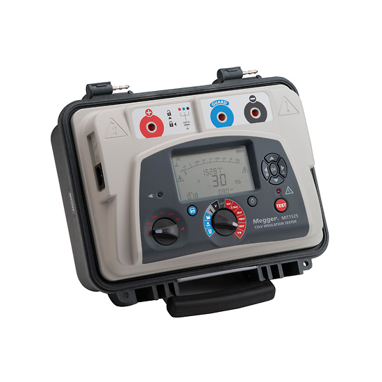 Megger Mit1525 Insulation Resistance Tester 15 Kv From Davis Instruments