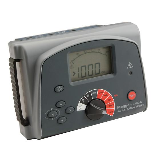 Megger Bm5200 Insulation Resistance Tester 5 Kv From Davis Instruments