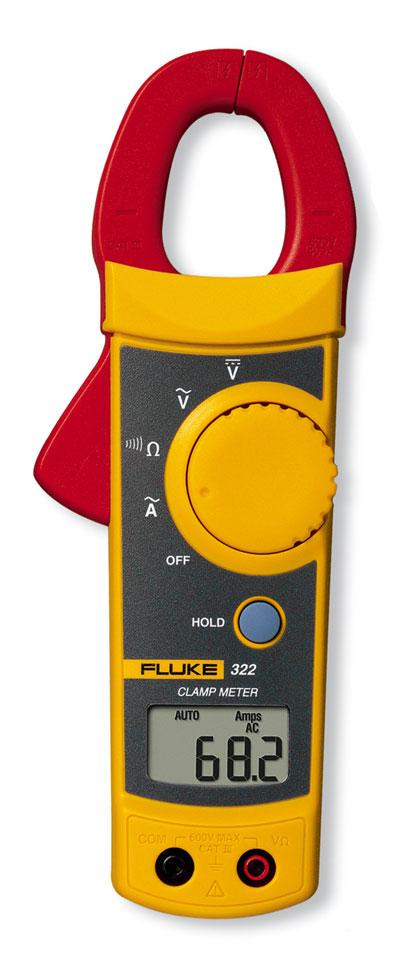 Fluke Multimeter Clamp On : Fluke clamp meter from davis instruments