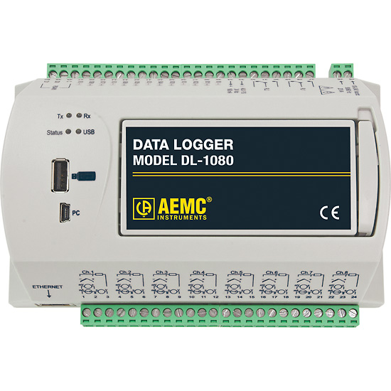 Data Loggers And Natural Gas Detectors : Aemc data logger model dl channel no lcd from davis