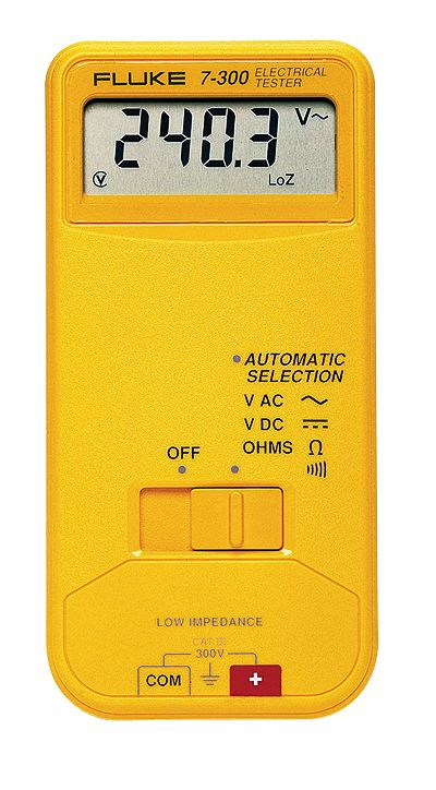 Fluke 7 300 Electrical Tester From Davis Instruments