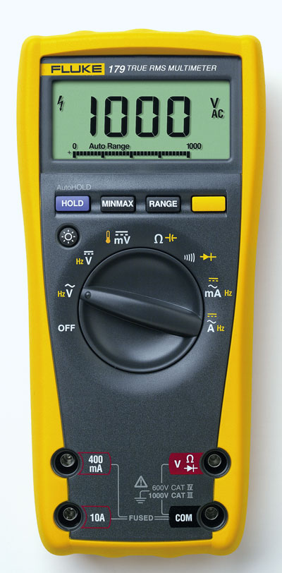 Moisture Probe For Fluke Multimeter : Fluke true rms multimeter with backlight and