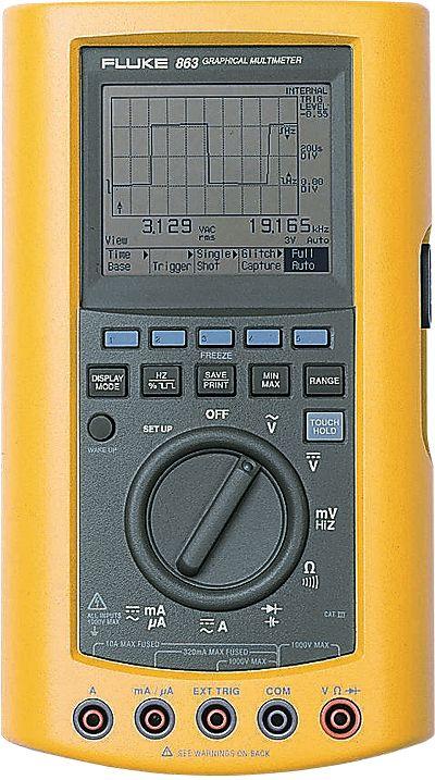 Fluke 863 Multimeter From Davis Instruments