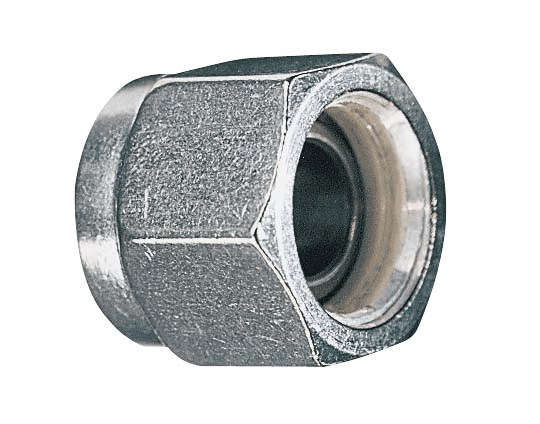 Ferrule and nut assembly stainless steel from davis