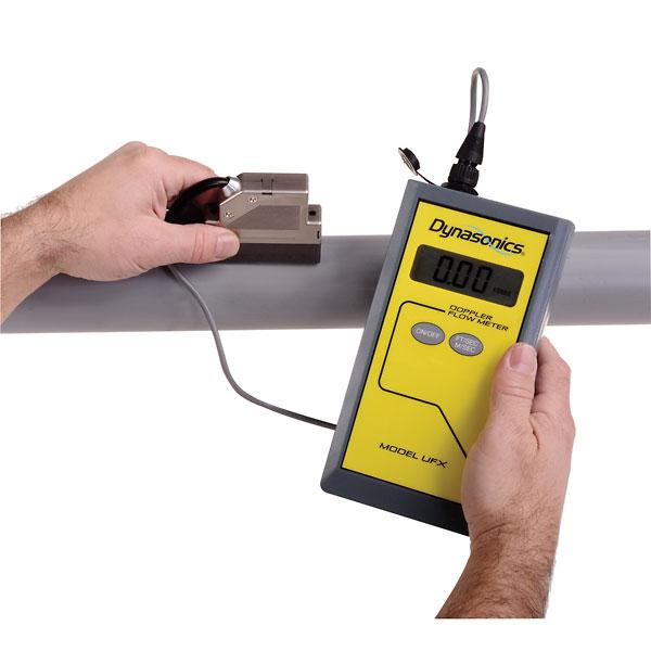Dynasonics Ultrasonic Flowmeter w Standard Transducer from ...