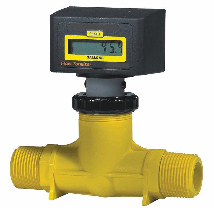 Force Flow Calibration: Cole Parmer Paddle Wheel Flowmeter 30 To 300 LPM 2 NPT M W