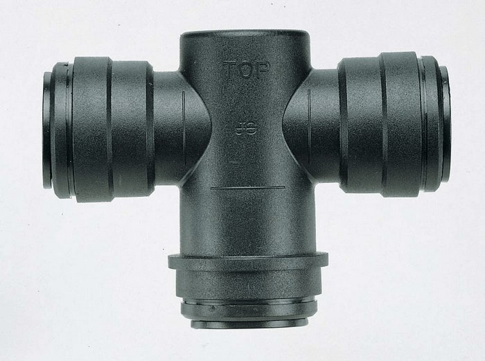 Push To Connect Compressed Air System Water Trap Tee 3 4