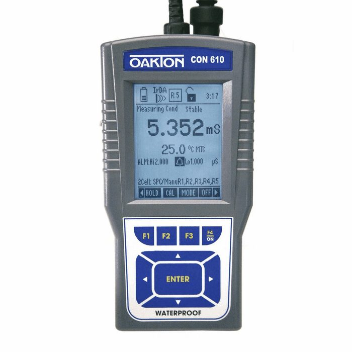 Oakton Conductivity Meter : Oakton con waterproof conductivity tds meter kit from