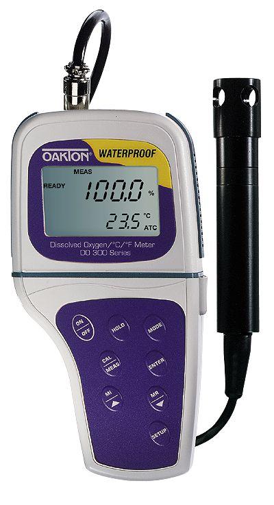Dissolved Oxygen Meter : Oakton waterproof do dissolved oxygen meter only from