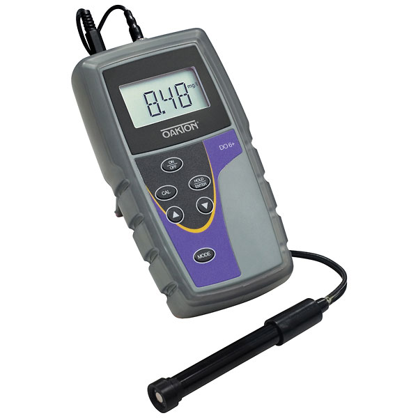Dissolved Oxygen Meter : Oakton do dissolved oxygen meter with probe and nist