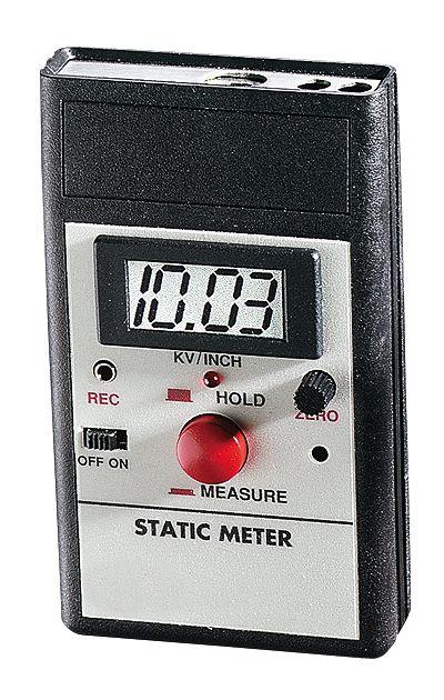 Digital Millivolt Meter : Digital static charge meter with mv kv output from