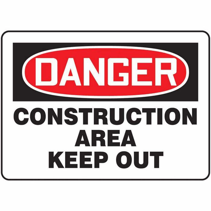 Safety Sign Danger Construction Area Keep Out 10 X 14. Please Come Signs. Helicopter Signs. Left Atrial Signs. Youtuber Signs Of Stroke. Clipart Black Signs. Telugu Signs. Infarct Volume Signs. Accommodation Signs
