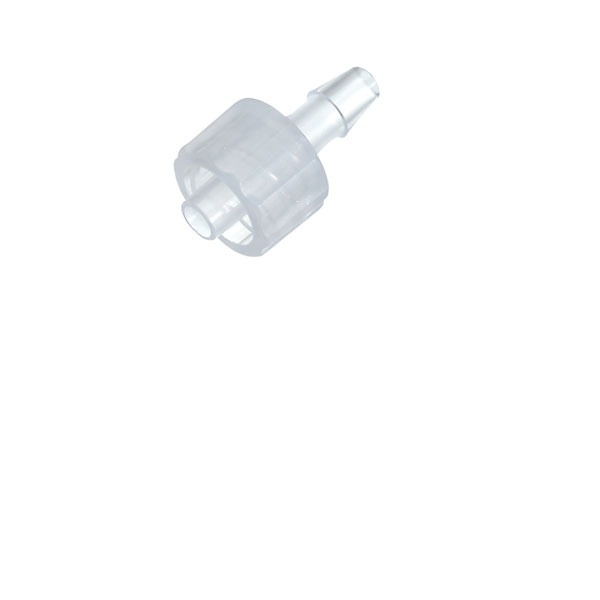Cole-Parmer Male luer with Lock Ring x 5//32 Hose Barb 25//pk PP
