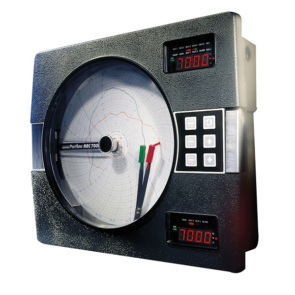 0 to 300 PSI Dickson PW476 Pressure Chart Recorder