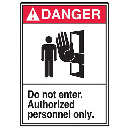 Do Not Disturb Sign .060 Heavy Duty Plastic A81-490PL Visual 52 Indoor and Outdoor Use Made in USA 7 x 10