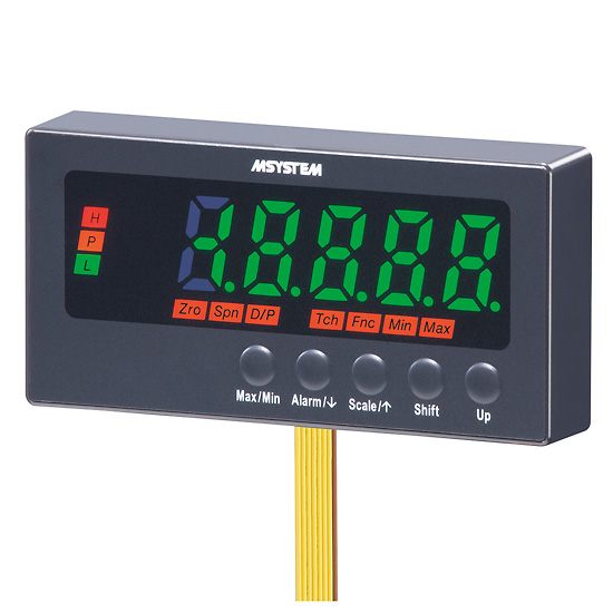 Panel Mount 4 20 Ma Digital Indicator : M system nlv series digital panel meter ma input