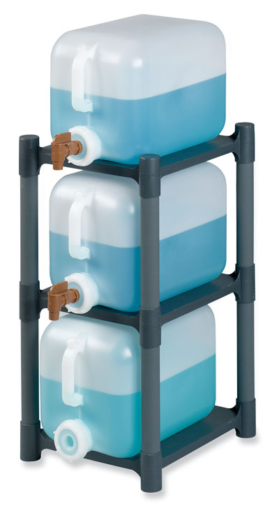 Electronic Test Equipment Racks : Modular pp carboy rack for square carboys shelf from