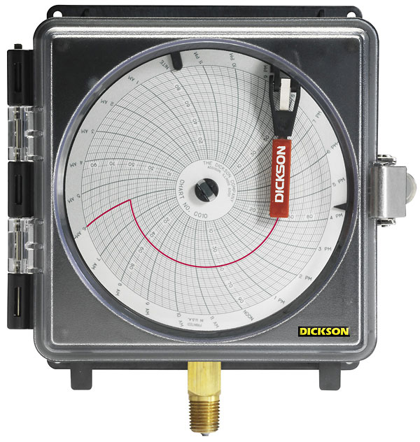 8 pressure chart recorder 0 to 300 psi 7 day chart from davis