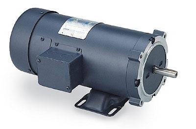 Leeson Nema Type 56c Face Tefc Motor 1 2 Hp 1750 Rpm 180