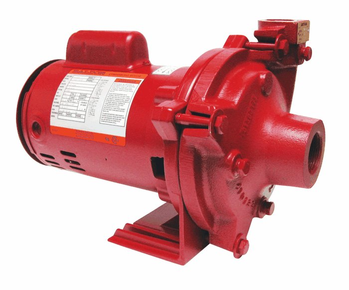Armstrong Motor Mounted End Suction Centrifugal Pump 44gpm
