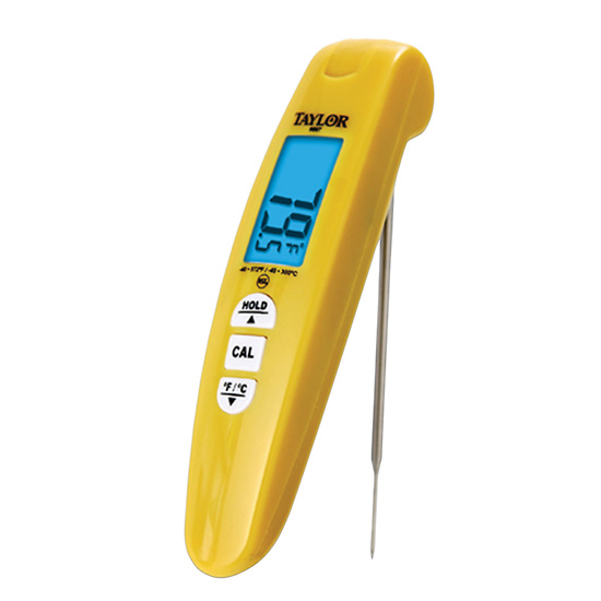 Taylor 9867FDA Turbo Digital Pocket Thermocouple Thermometer Click To Enlarge