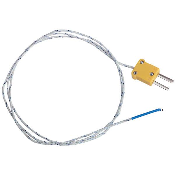 extech tp870 thermocouple probe beaded wire type k from davis instruments