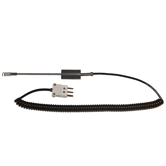 digi sense air gas rtd probe 100 ohm ansi 3 blade connector 5 l 5ft coil cord from davis instruments
